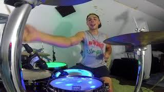 Travis Barker & YelaWolf - Drum Cover - Funky Shit   Reno Warmath Drum Covers