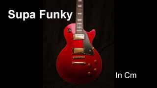 Supa Funky // Backing Track // Cm