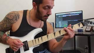 'B' minor Funky Jam Improvisation by Chris Zoupa & Chris Gardino