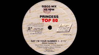 Princess - Say I'm Your Number 1 (The Funky Sisters Remix Number 2)