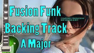 Fusion Funk Backing Track A Major Classy Funky Tune Featuring Stel Andre