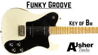 Funky Groove | Guitar Backing Track Jam in Bm
