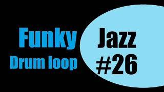 Funky Jazz drum loop N.26