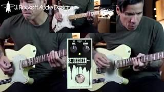FUNKY LITTLE THING! - J Rockett Squeegee compressor pedal - demo by RJ Ronquillo