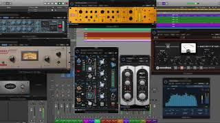 Logic Pro 10.4.1 Funky Groove with Alchemy