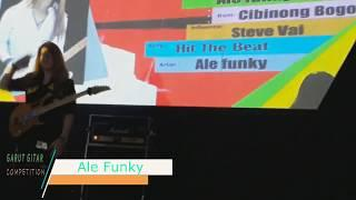 ALE FUNKY   HIT THE BEAT ( 1st GARUT GITAR COMPETITION )