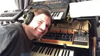 Behringer ODYSSEY and CRAVE Live Funky Jam | Moot Booxlé