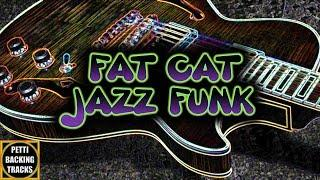 Fat Cat Jazz Funk Backing Track in A Dorian