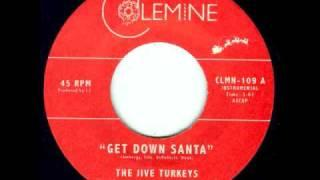 "The Jive Turkeys - ""Get Down Santa"" - Funky Christmas 45"