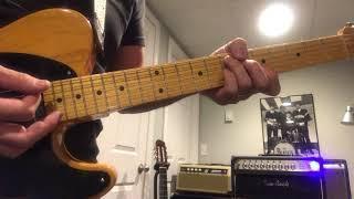 Funk chords demo / Funky rhythm guitar / Tomo Fujita