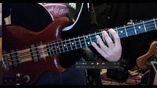 Funky bass jam - Intro Bass chords - Bass tutorial