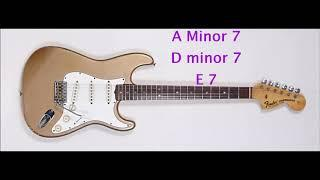 Funky Guitar Backing Track in A Minor
