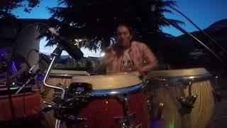 Ricky Comanche  Live Percussion a Nato Torbole al'' Afro  Funky 01 06 19