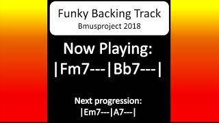 Funky i-IV Backing Track in all 12 Keys - Practice Buddy