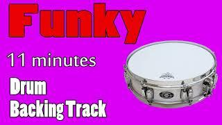 Funky Drumless Backing Track (11 minutes with pre-count) - 110 BPM