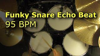 Funky Snare Echo Beat 95 BPM