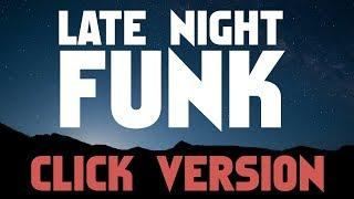 Funky Soul Disco Drumless Backing Track Click Track Version