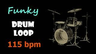 Funky Drum Loop 115 bpm