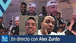 Funky, Manny Montes y Musiko interactúan con Alex Zurdo en directo y hablan de su nuevo álbum