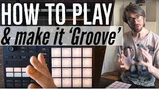 The famous 'Funky Drummer' beat: How to make it groove? [Finger drumming tutorial]