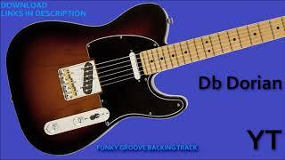 Funky Groove Backing Track Db Dorian