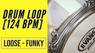 Funky Drum Loop - 124 BPM - Migsdrummer