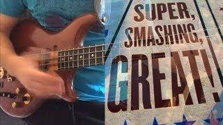 Funky solo Bass - tutorial with Tab - Super, smashing, great Slap bass - OuterBass #6