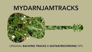 Funky Acoustic Backing Track in Gm